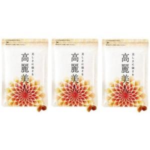 3袋セット 高級品質の紅参6年根だけを100%使用した韓国・プンギ産の高麗人参サプリメント。韓国では...
