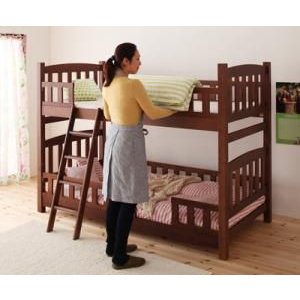 2段ベッド 天然木コンパクト分割式 fine ファイン