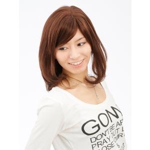 プリティースタンダード 軽いウイッグ 自然仕上げ ハンドメイド  ご来店で調整カット付き 医療用|super-hair-seo