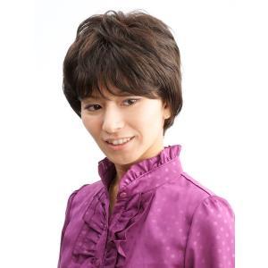 ネット限定価格 ソフトショート 軽いウイッグ 自然仕上げ ハンドメイド  ご来店で調整カット付き 医療用|super-hair-seo
