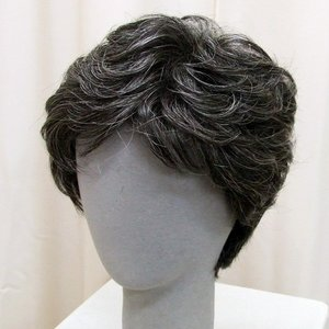 ネット限定 白髪15% カジュアルスタンダード 軽いウイッグ 自然仕上げ ハンドメイド ご来店で調整カット付き 医療用|super-hair-seo