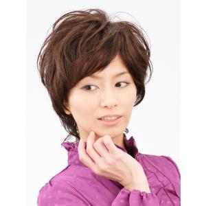エアリーショート 軽いウイッグ 自然仕上げ ハンドメイド 医療用|super-hair-seo