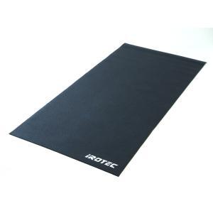 IROTEC(アイロテック)フィットネスマット/ホームジム パワーラック ダンベル 筋トレ ベンチプレス バーベル トレーニング器具 腹筋 フラットベンチ ダイエット