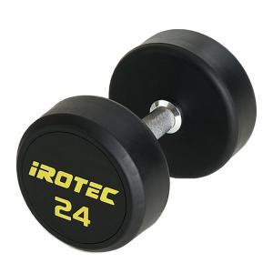 IROTEC(アイロテック)ジムダンベル 24KG/ダンベル 筋トレ トレーニング器具 筋トレ器具 筋トレグッズ ベンチプレス バーベル|super-sports