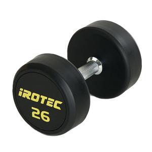 IROTEC(アイロテック)ジムダンベル 26KG/ダンベル トレーニング器具 筋トレ器具 筋トレグッズ ベンチプレス バーベル ウエイトトレーニング|super-sports