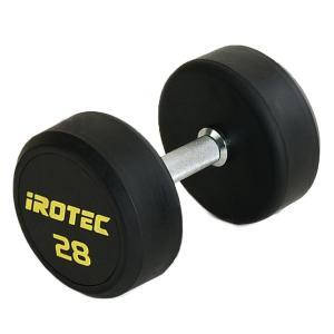 IROTEC(アイロテック)ジムダンベル 28KG/ダンベル トレーニング器具 筋トレ器具 筋トレグッズ ベンチプレス バーベル ウエイトトレーニング|super-sports