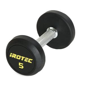 IROTEC(アイロテック)ジムダンベル 5KG/ダンベル トレーニング器具 筋トレ器具 筋トレグッズ ベンチプレス バーベル ウエイトトレーニング|super-sports