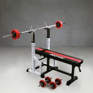 IROTEC(アイロテック)チャレンジセットR30/トレーニング器具 筋トレ器具 筋トレグッズ ベンチプレス バーベル ウエイトトレーニング