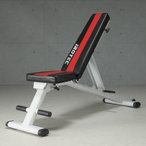 IROTEC(アイロテック)マルチパーパスベンチ【組立不要】/ダンベル・筋トレ・ベンチプレス・バーベル・トレーニング器具・フラットベンチ・インクラインベンチ|super-sports