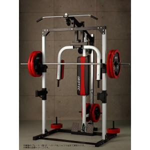 IROTEC(アイロテック)マルチステーションラック /トレーニング器具 筋トレ 器具 筋力トレーニング ベンチプレス ダンベル バーベル 筋トレ グッズ バタフライ