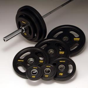 バーベルセット IROTEC(アイロテック)オリンピック バーベル 134KGセット(オールラバータイプ)/ベンチプレス 筋トレ パワーラック 筋トレ器具|super-sports