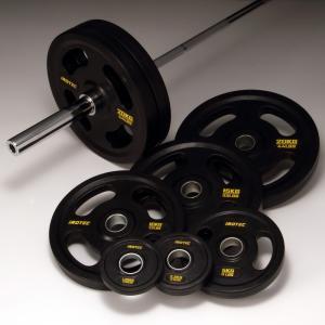 IROTEC(アイロテック)オリンピックバーベル 174KGセット(オールラバータイプ)/ベンチプレス トレーニング器具 筋トレ ダンベル ウエイトトレーニング