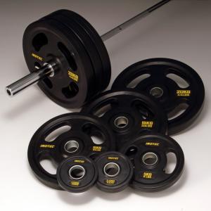 バーベルセット IROTEC(アイロテック)オリンピックラバーバーベル 214KGセット/ベンチプレス 筋トレ ダンベル パワーラック トレーニング器具|super-sports