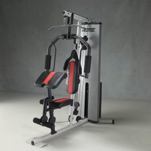 IROTEC(アイロテック)パワーボディジム200/ホームジム 筋トレ トレーニング器具 ベンチプレス トレーニングマシン 健康器具 ダンベル バーベル|super-sports