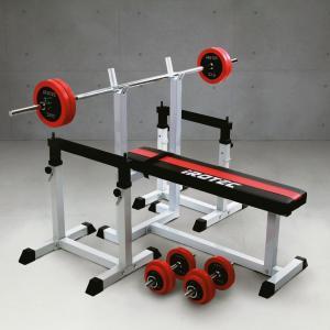 ベンチプレスセット IROTEC(アイロテック)ストレングスセットR50 K/ベンチプレス 筋トレ トレーニング器具 トレーニングマシン バーベル セット|super-sports