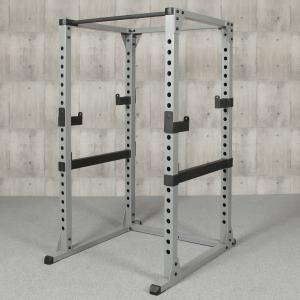 IROTEC(アイロテック)パワーラックHPM/ベンチプレス 筋トレ トレーニング器具 ダンベル バーベル トレーニングマシン ホームジム フラットベンチ|super-sports