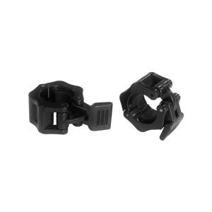 IROTEC(アイロテック)レギュラークイックカラーブラック2個セット 径28mm専用カラー(留め具)/イージーカラー ダンベル バーベル 筋トレ器具 筋トレ|super-sports
