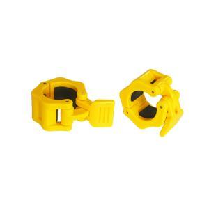 IROTEC(アイロテック)レギュラークイックカラーイエロー2個セット 径28mm専用カラー(留め具)/イージーカラー ダンベル バーベル 筋トレ器具 筋トレ|super-sports