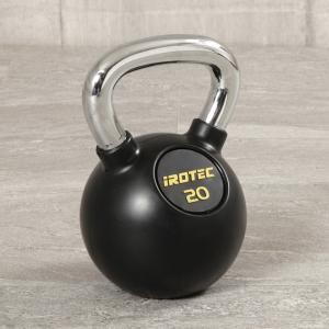 IROTEC(アイロテック)ケトルベル 20kg (ラバーコーティングタイプ) 握力 筋トレ ダンベル バーベル トレーニング器具