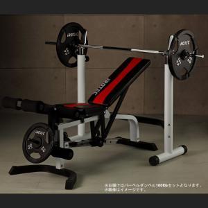 ベンチプレス  IROTEC(アイロテック)ホームビルダーコンポーネント100/ダンベル 筋トレ トレーニング器具 スクワットラック インクラインベンチ|super-sports
