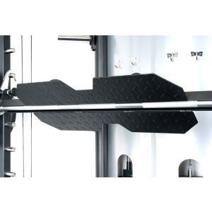 IROTEC(アイロテック)マルチファンクショナルスミス&クロストータルトレーナージム専用レッグプレスプレート/ホームジム パワーラック スミスマシン 筋トレ|super-sports