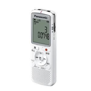 Panasoic パナソニック ICレコーダー ホワイト RR-QR220-W 録音 証拠 メモリー...
