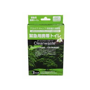 Cleanwaste 緊急用携帯トイレ S-265|superbush