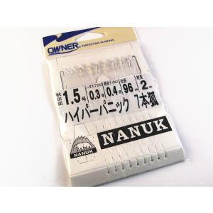 ナヌーク 仕掛別注 ハイパーパニック7本 秋田狐1.5号 オーナー製 ・メール便可 superbush