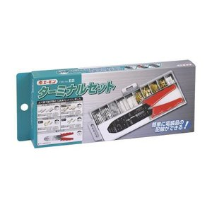 エーモン/amon E2 配線/工具セット ターミナルセット よく使う端子類のセット 電工ペンチ付属|supercal-store