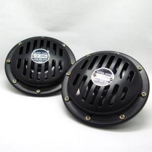 ホーン 12Vベンツホーンタイプ ハイパワー電磁ホーン ブラック DC12V用 車検対応 ブレイス BE-836/|supercal-store