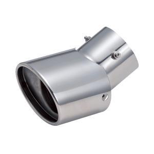 セイワ:マフラーカッター オーバル 角度調整無段階 Lサイズ 純正マフラー外径 45-67mm/K341/|supercal-store
