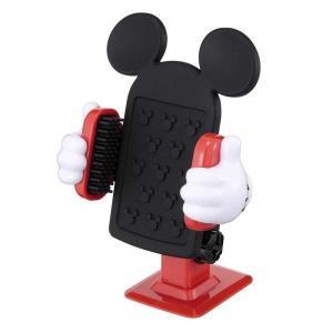 ナポレックス:ミッキー iPhone スマートフォン ホルダー 3Dホールドシステム 360度回転/WD-275 supercal-store