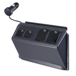 槌屋ヤック/YAC:80系ノア・ヴォクシー専用設計 増設USBポート+アクセサリーソケット NOAH・VOXY/SY-NV3/|supercal-store
