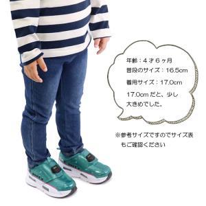 プラレール 靴 スニーカー はやぶさ かがやき キッズ スリッポン|superfoot|06