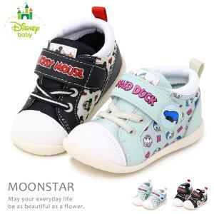 ミッキーマウス キッズ スニーカー ベビー 靴 ミニー DS0153 キッズシューズ|superfoot