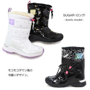 スノーブーツ キッズ ジュニア 女の子 スパイク シュガー J53SP|superfoot|03