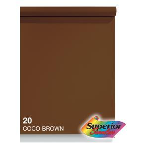 BPS-2711 スーペリア背景紙 2.72x11m #20ココブラウン|superior
