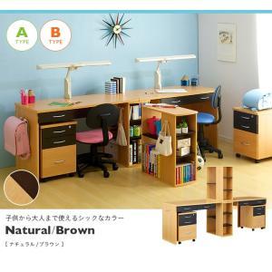 学習机 ツイン 白 勉強机 学習デスク twin desk(ツインデスク) 7色対応|superkagu|04