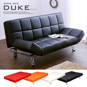 ソファベッド ソファーベッド 3人掛けソファ DUKE3 デューク3 4色対応|superkagu