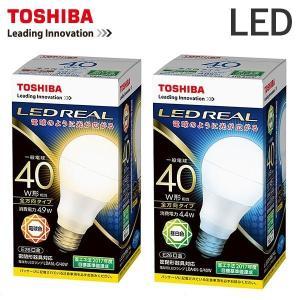TOSHIBA 東芝 LED電球 40W形相当 E26口金 LDA4N-G/40W(昼白色)  LDA5L-G/40W(電球色)|superkagu