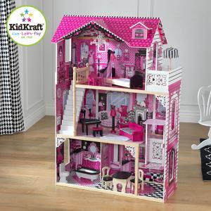 CEマーク認定 家具のおもちゃ14点付き ミニチュアハウス ドールハウス 人形遊び 家具付き 木製 ...