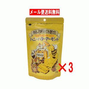 【6310】☆4 ドウシシャ ハニーバターアーモンド 120g×3個|superkid