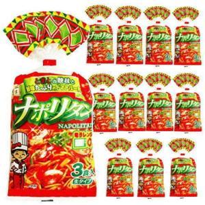【6213】☆8 五木食品 ナポリタン3食入(トマトルー付) 477g×12袋(1ケース)業務用にも|superkid