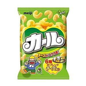 【6310】☆7 カール チーズ味 64g×10袋(1ケース)明治製菓 |superkid