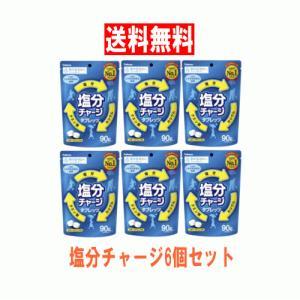 【6310】☆8 カバヤ食品 塩分チャージタブレッツ 90g×6袋 ※賞味期限2022年11月※|superkid