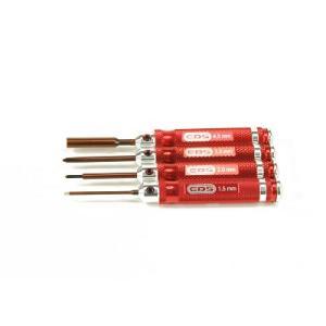 EDS290910#  Miniツールセット ミニッツレーサー用4本セット superrc