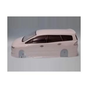 CC726  ワンボックス/ODY 塗装済み 白色 superrc