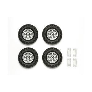 OP-1742  GF-01 クロスカントリータイヤ&スプリングセット|superrc