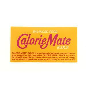 カロリーメイト(CalorieMate) カロリーメイト ブロック 2本入 メープル味 (メンズ、レ...