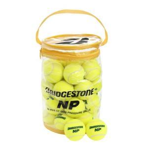 ブリヂストン(BRIDGESTONE) 硬式用テニスボール ノンプレッシャー(30球入) BBA-460 (Men's、Lady's、Jr)